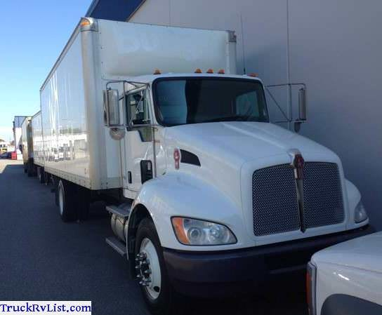 Kenworth T370 5ton Box Truck For Sale Used