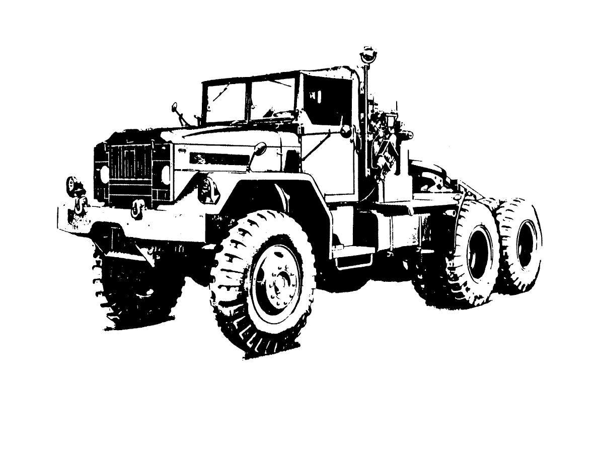 Figure 1 Truck Tractor 10 Ton 6x6 M123