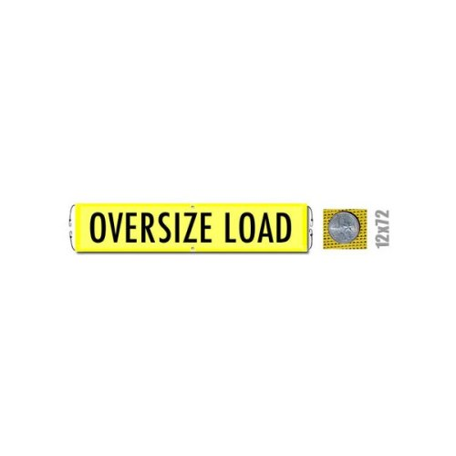 Oversize Load Banner with Bungee (valuegear)