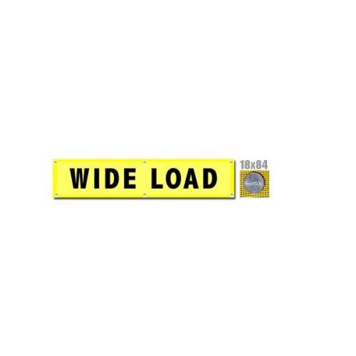 Wide Load Banner w/ Brass Grommets (valuegear)
