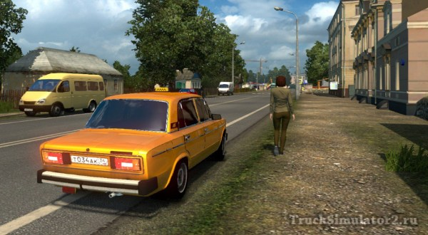 ВАЗ 2106 жигули классика для Euro Truck Simulator 2