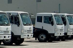 FAW4 medium truck range
