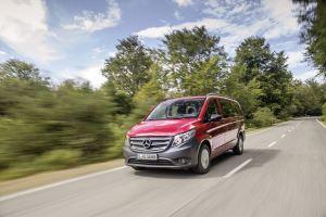 The new Mercedes-benz Vito