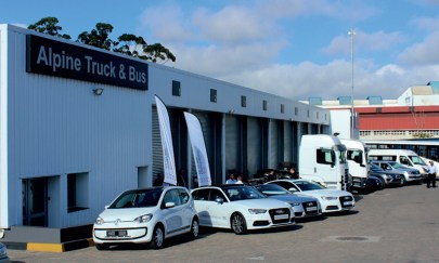 Alpine truck & Bus open MAN dealership