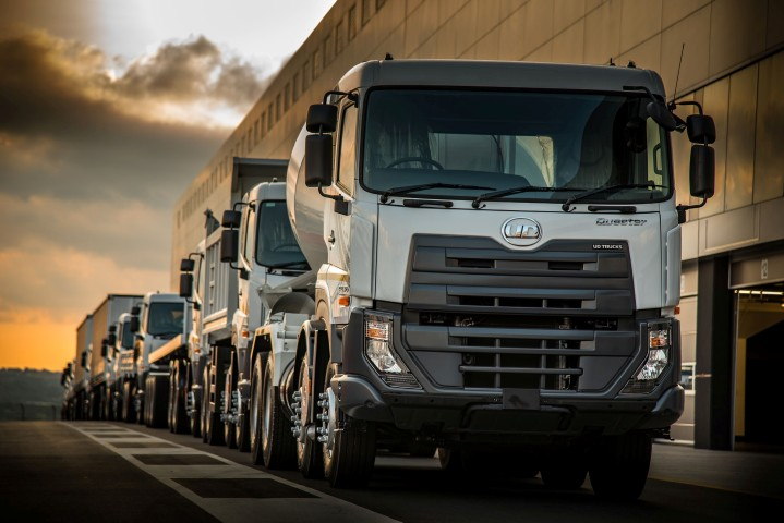 UD Trucks at Brand day