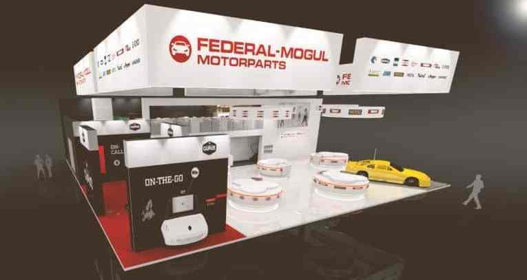 The Federal-Mogul stand will feature interactive exhibits and demos.
