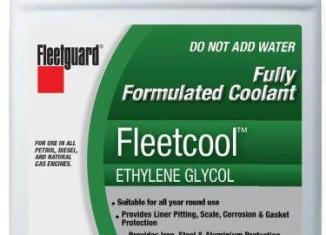 Fleetcool for gas and diesel engines