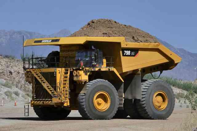 Two New Caterpillar Ultra-Class Mining Trucks