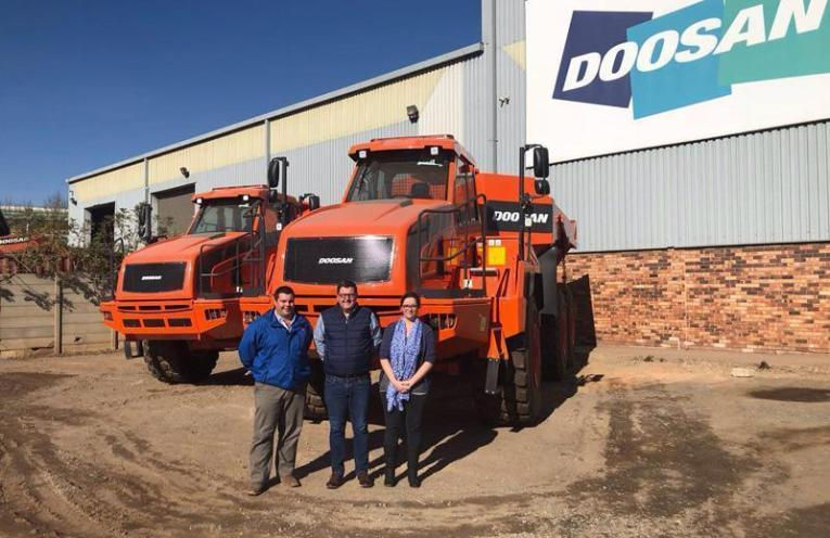 Doosan has strengthened its position in the construction equipment sector, with the recent opening of a new branch in Port Elizabeth.