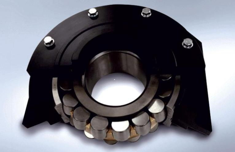 NSK integrated bearing assembly.