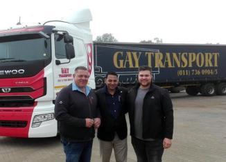 Gay Transport with Daewoo SA.