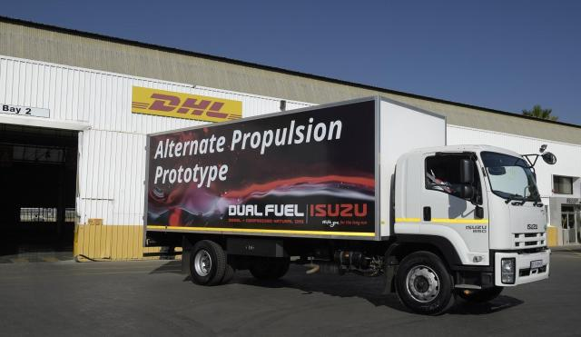 Isuzu Explores Alternate Fuel Solutions for Commercial Vehicles