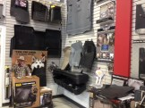 Floor Mats and Underseat storage on display in our Showroom