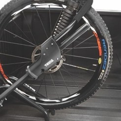 In bed options can be a great way to secure a bike.