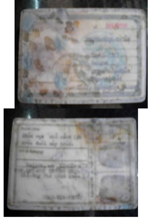 thẻ quân nhân việt nam cộng hòa
