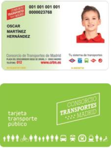 CÓMO CONSEGUIR LA NUEVA TARJETA DE TRANSPORTES GRATUITA DE LA CAM  Foto de %title