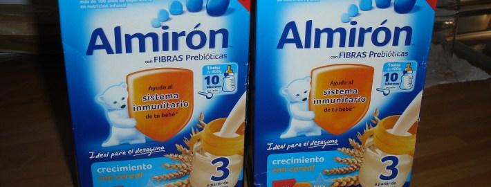 HOY PROBAMOS: NUEVA  ALMIRON 3 CRECIMIENTO CON CEREAL INCORPORADO  Foto de %title