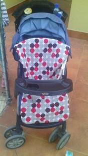 HOY PROBAMOS: Colchoneta universal para silla de paseo Bimbi Pirulos  Foto de %title