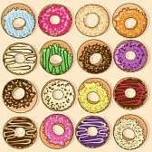 23498362-iconos-aislados-de-donuts-de-colores