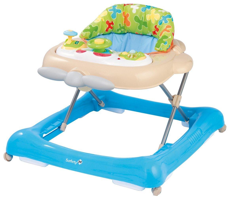 Son seguros los andadores para bebés?