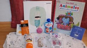 Nonabox cajitas regalos con productos para embarazadas y mamás