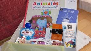 Nonabox cajitas regalos con productos para embarazadas y mamás. Trucos de mamás