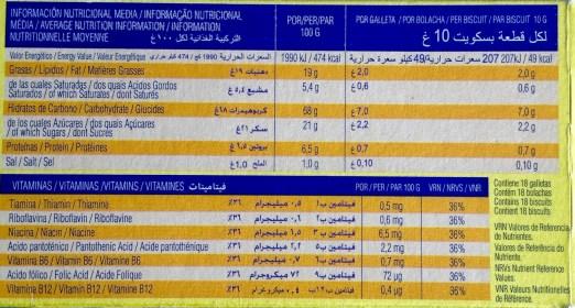 GALLETAS DINOSAURUS A EXAMEN. NUTRICIONISTAS VS ASOCIACIÓN ESPAÑOLA DE PEDIATRIA  Foto de %title