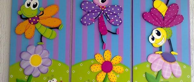 Cuadros infantiles con pintura al leo - Cuadros para habitaciones infantiles ...