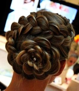 Peinado niñas fiesta