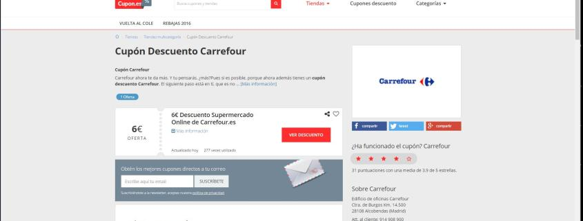 CUPONES DESCUENTO: AHORRA EN LA VUELTA AL COLE CON CARREFOUR  Foto de %title