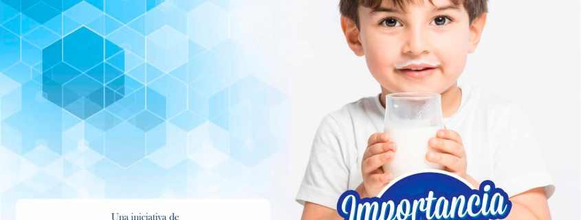 LA IMPORTANCIA DE LA LECHE EN LA ALIMENTACIÓN INFANTIL  Foto de %title