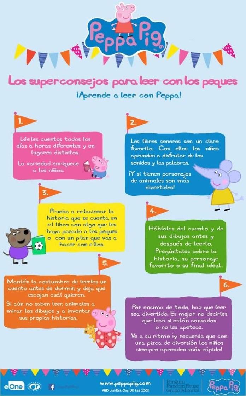CELEBRA EL DÍA DEL LIBRO CON LOS CONSEJOS DE PEPPA PIG  Foto de %title