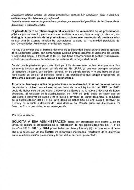 CÓMO RECLAMAR EL IRPF DE MATERNIDAD PASO A PASO  Foto de %title