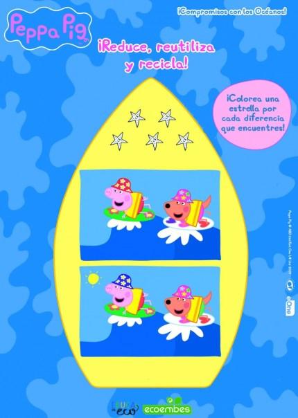 DESCARGA GRATIS ACTIVIDADES DE PEPPA PIG PARA CUIDAR EL PLANETA  Foto de %title