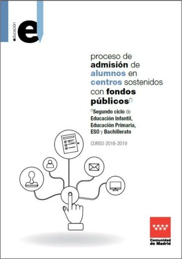 Admisión de alumnos 2018/2019