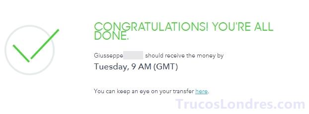 hacer transferwise gratis