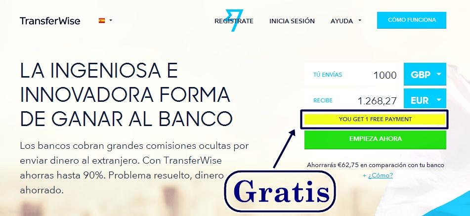 transferwise-gratis