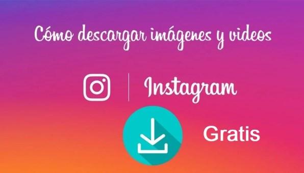 descargar videos y fotos de Instagram
