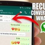 conversaciones eliminadas whatsapp