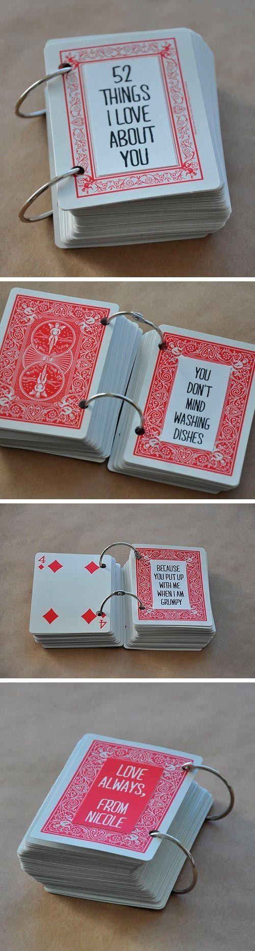 Manualidades San Dia Para De Cartas Con Valentin Baraja De