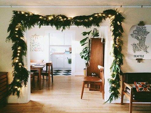 Salón navideño