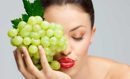 Uvas para las manchas