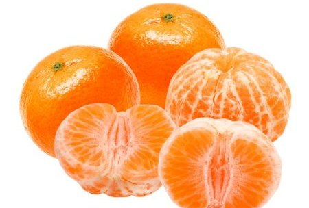 Eliminar acidez de una mandarina