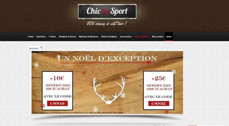 Chic et Sport