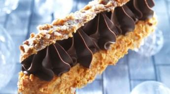 Eclair de fêtes Chocolat Cassis