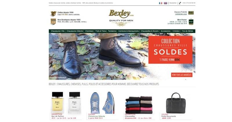Soldes hiver 2015 Bexley