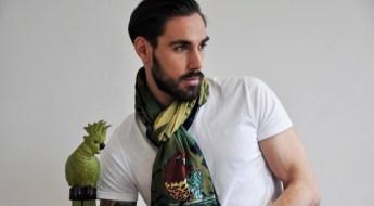 foulard Monsieur Charli