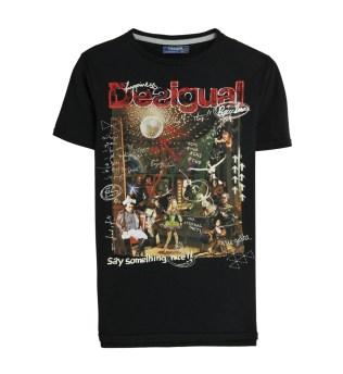 T-shirt Desigual Follissimes 2015 - trucsdemec.fr, blog lifestyle masculin, blog mode homme, beauté homme