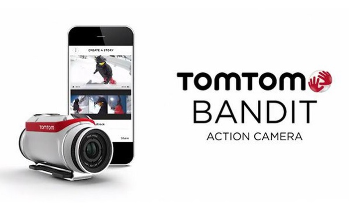 TomTom Bandit Action