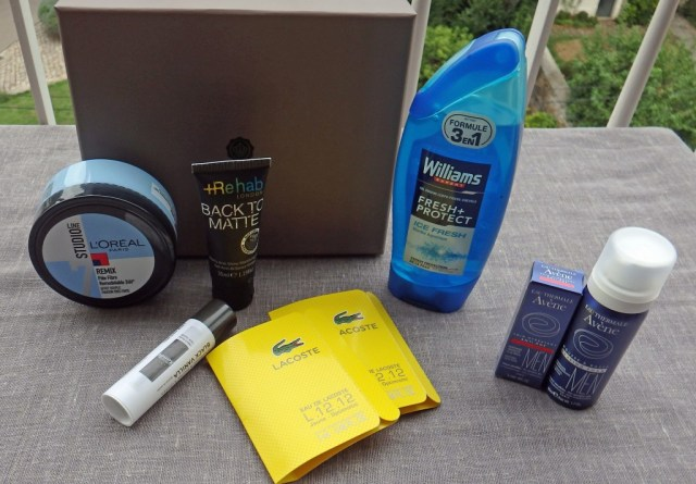 Glossybox homme